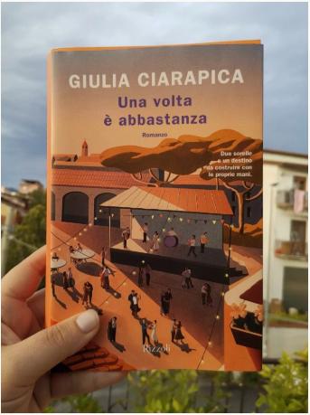 Una volta è abbastanza di Giulia Ciarapica letto da @alicedicarta